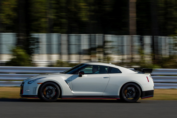 2015 Nissan GTR Nismo European Spec Brilliant White Pearl