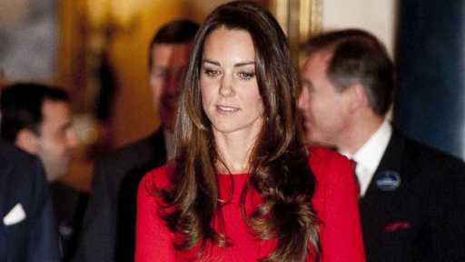PHOTO: Kate Middleton is seen during a Reception for the Dramatic Arts, at Buckingham Palace in London Feb. 17, 2014.