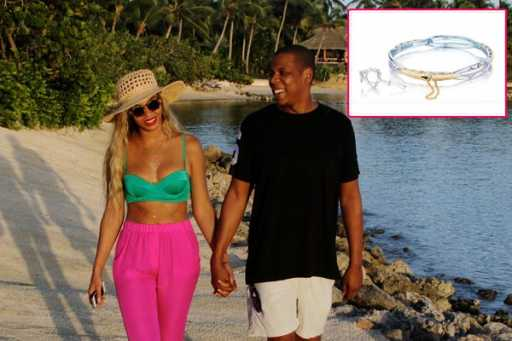 Fit for a Queen B! Jay Z gives Beyonce $2500 'promise bracelet' for Valentine's Day