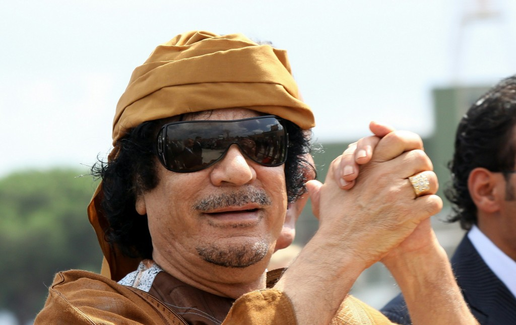 Libyan Leader Muammar Gaddafi Official Visit In Rome