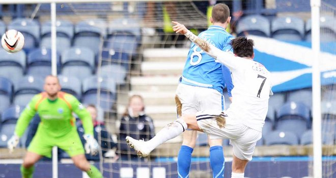St Johnstone reach semis