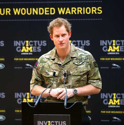 Prince Harry Launches 'Invictus Games' for Injured Servicemen and Women