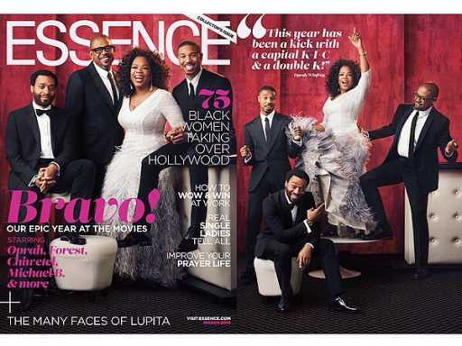 Oprah Gives Essence Cover Dress to a Fan Via Twitter
