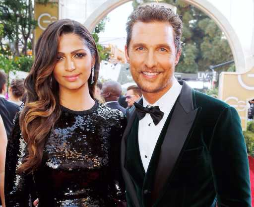 Camila Alves: Husband Matthew McConaughey Isn't as Romantic as His Movie Characters