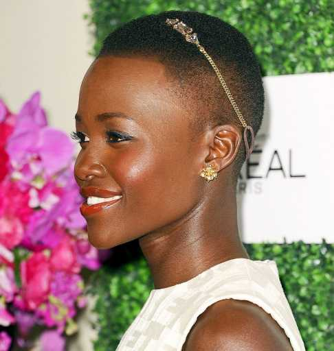 Lupita Nyong'o Wears $58 Headband to Essence Luncheon