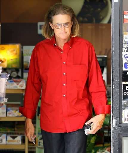 Bruce Jenner has even longer hair now