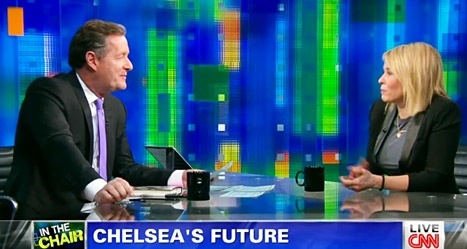 Chelsea Handler on Piers Morgan Live: 'You're a Terrible Interviewer'