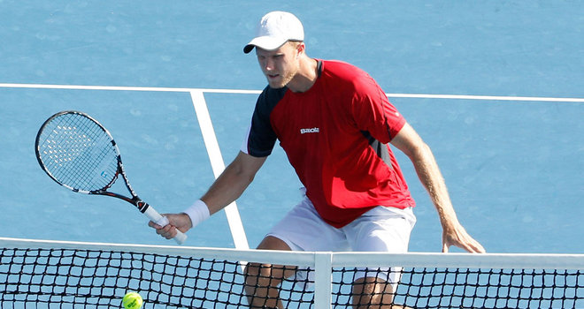 Inglot shines in doubles in US
