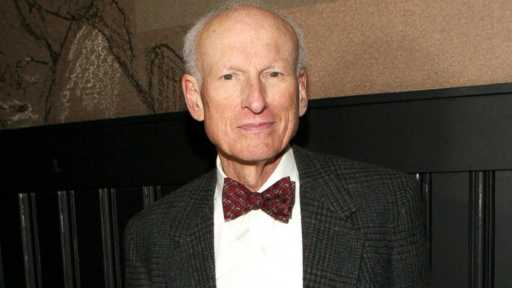 """PHOTO: James Rebhorn attends the """"Too Much, Too Many, Too Much, Too Many"""" Opening Night after party at HB Burger, Nov. 20, 2013, in New York."""