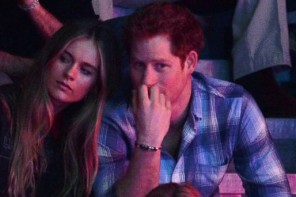 Prince Harry and Cressida Bonas Attend First Royal Event Together