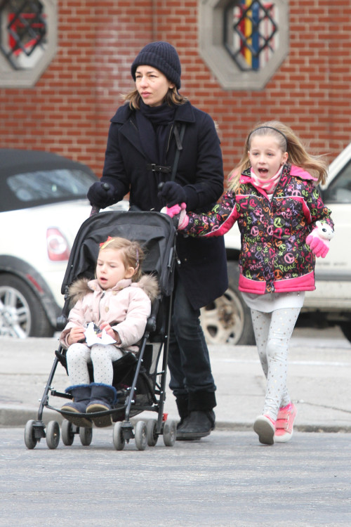 Sofia Coppola and Daughters: City Gals