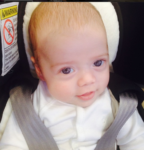 "Rachel Zoe: ""Kaius' First Trip To The Office"""