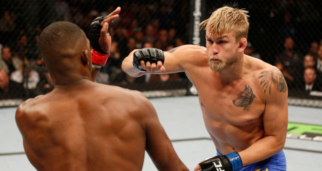 Alex Gustafsson: Expected to be too strong for home favourite Jimi Manuwa