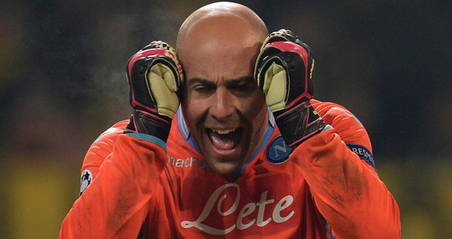 Reina sets sights on success