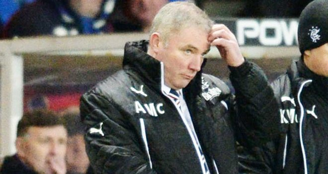 McCoist: Blame part of game