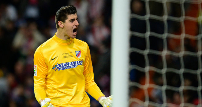 Courtois calm on future