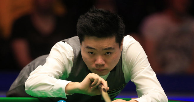 Ding dominant in Haikou