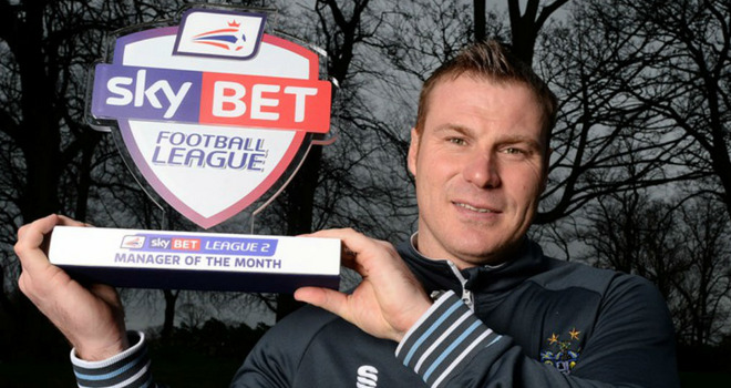 Flitcroft: Award goes to family