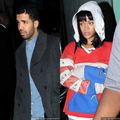 Rihanna spotted holding hands with Drake