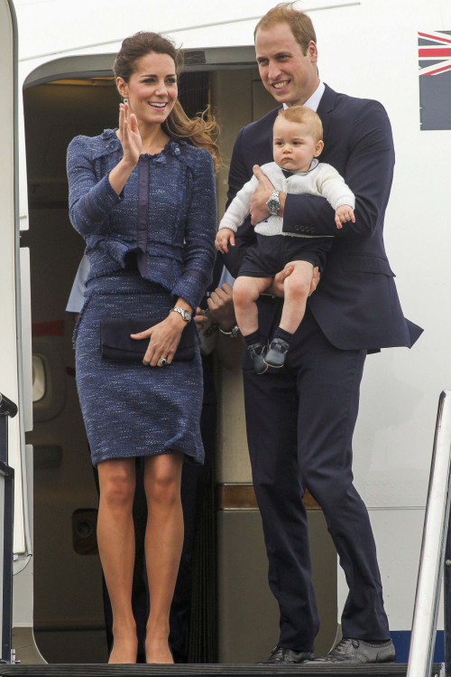 Prince William and Kate Middleton's Traveling Tot