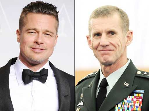 Brad Pitt Will Play General Stanley McChrystal in War Thriller 'The Operators'