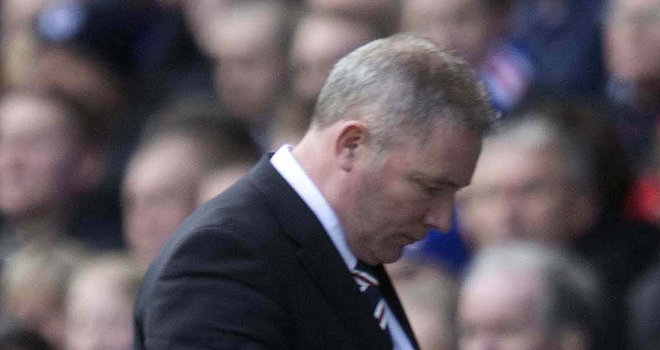 McCoist remains in the dark