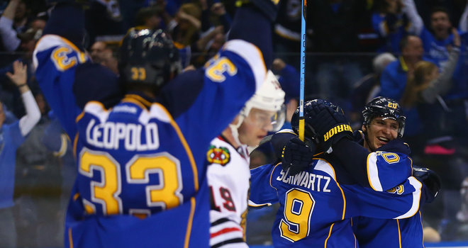NHL: Blues deny Blackhawks