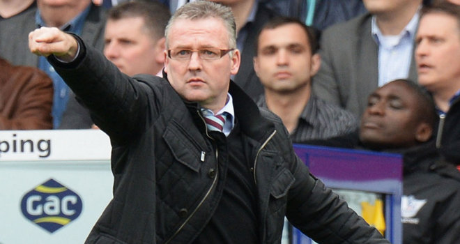 Lambert looks to Villa future