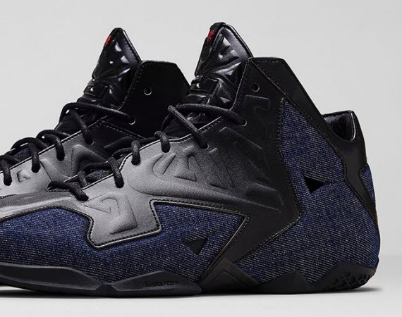 "Nike LeBron EXT 11 ""Denim"" Official Images"