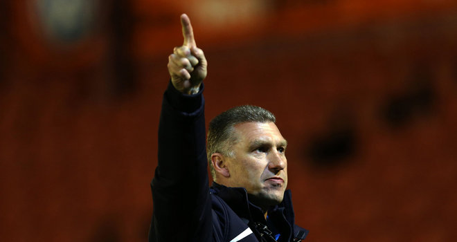 Nigel Pearson: Delighted with his players