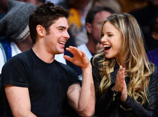 Zac Efron reportedly dating actress Halston Sage