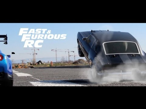 Fast and Furious 7 RC Car Chase