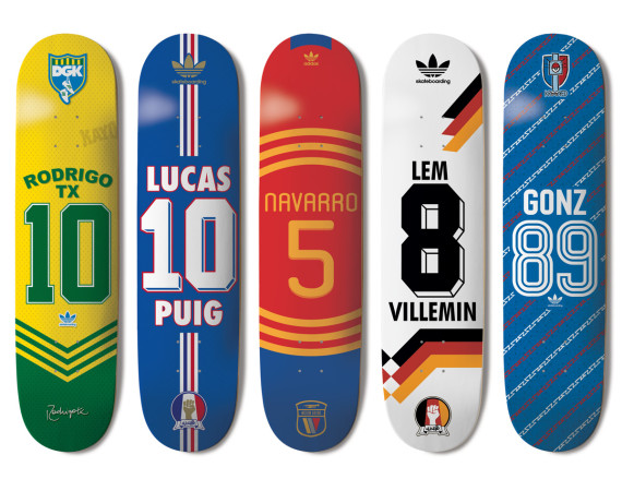 adidas Skateboarding Skate Copa Decks Detailed Look
