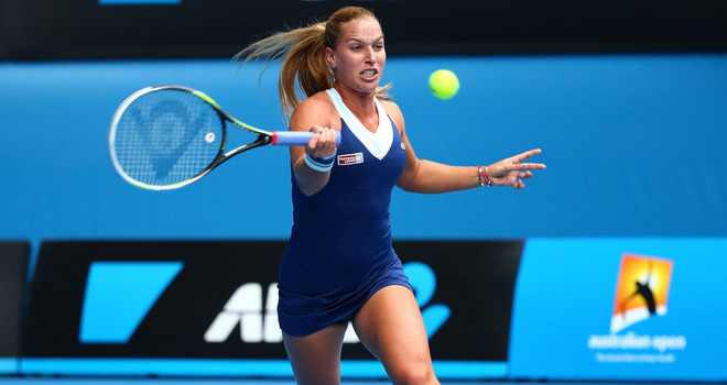 Cibulkova battles through