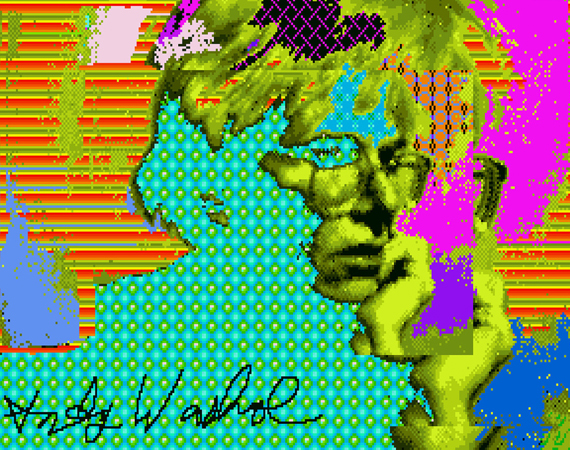 Lost Andy Warhol Digital Artwork Recovered