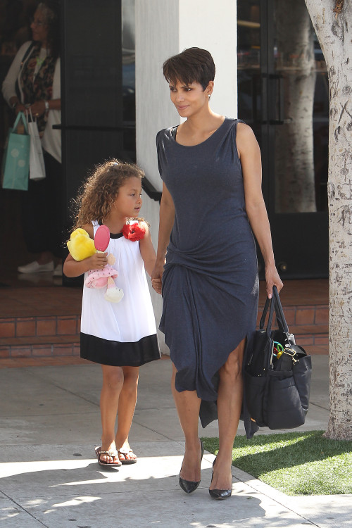 Halle Berry and Nahla: Easter Sunday Smiles