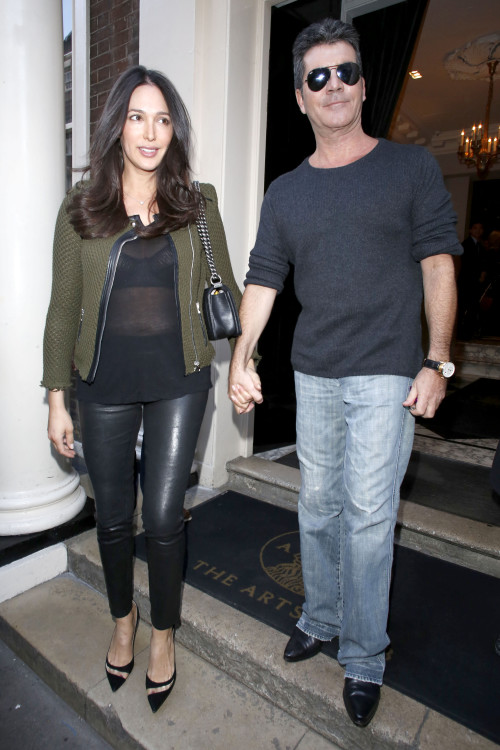 Simon Cowell and Lauren Silverman finish up with an X Factor meeting - Part 2 **USA ONLY**