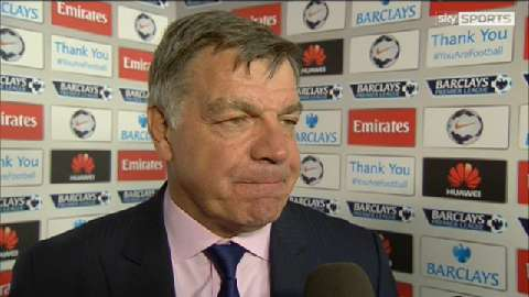 Allardyce frustrated by loss