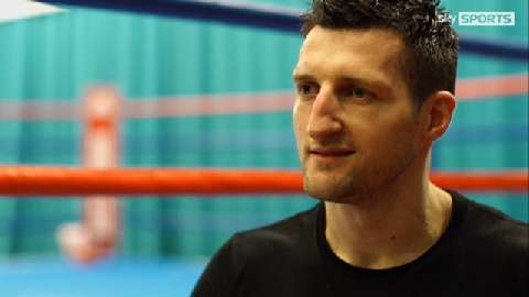 Froch on the road