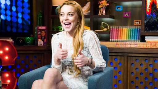 Lindsay Lohan talks about alleged lovers list