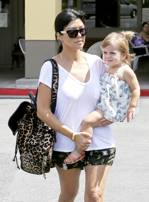 Kourtney Kardashian kicks off her morning with a Family Breakfast