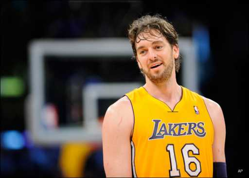 Pau Gasol Says Goodbye to Lakers