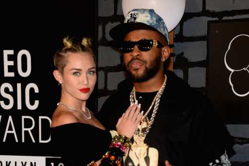 Miley Cyrus and Her New Boyfriend?