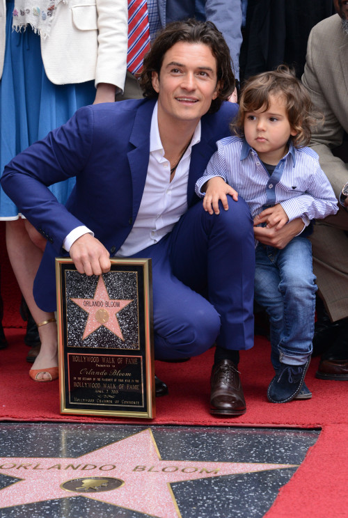 Orlando Bloom gets a Star on the Walk of Fame **USA, Australia, New Zealand ONLY**