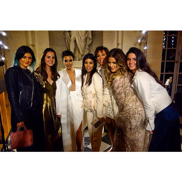 Keeping up with a real great family #thekardashians #wedding #versailles