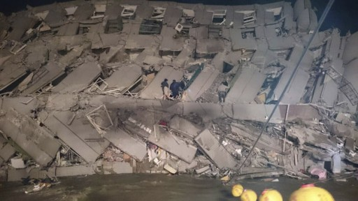 Taiwant Hit By 6.4-Magnitude Earthquake, 4 Killed, 100 Hospitalized