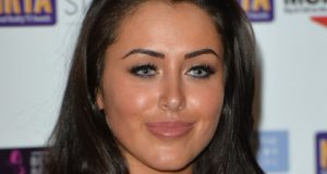 Marnie Simpson Goes Topless For Lingerie Shoot