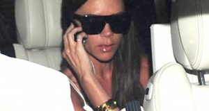 Victoria Beckham Spotted Dining And Hiding At Bluebird Restaurant In London