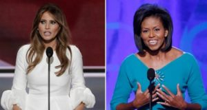 First Lady Melania Trump Is More Fashionable, Less Inspiring Like Michelle Obama