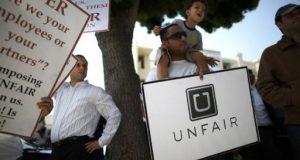 uber app protest